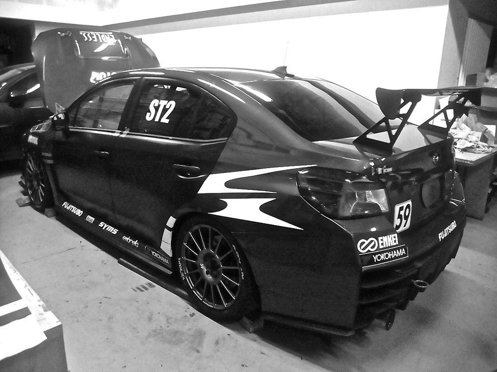 【M's】スバル WRX S4/STI (2014.8-) DAMD リアバンパー+エクステンション 2点// FRP 未塗装 ダムド エアロ VAG VAB リヤバンパー_画像9