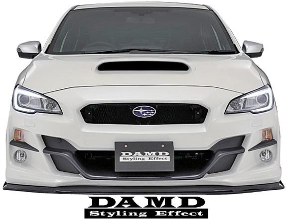 【M's】スバル WRX S4/STI (2014.8-) DAMD リアバンパー+エクステンション 2点// FRP 未塗装 ダムド エアロ VAG VAB リヤバンパー_画像6