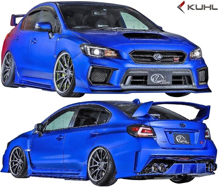 【M's】SUBARU 後期 WRX STI/S4 (H29.6-) Kuhl Racing VAB-GT リアバンパー//FRP SG クールレーシング エアロ リヤバンパー カスタム_画像6