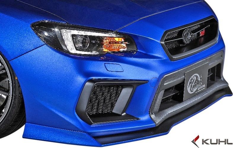 【M's】スバル 後期 WRX STI/S4 (H29.6-) Kuhl Racing VAB-GT エアロキット 8点//FRP SG クールレーシング フルエアロ エアロセット_画像5