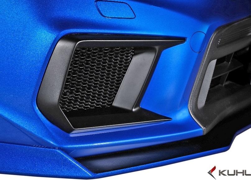 【M's】スバル 後期 WRX STI/S4 (H29.6-) Kuhl Racing VAB-GT フロントバンパーダクトカバ―//FRP SG クールレーシング エアロ_画像1