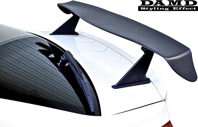 【M's】スバル WRX S4/STI (2014.8-) DAMD レーシングリアウイング// FRP 未塗装 ダムド エアロ VAG VAB リヤウイング リアウイング_画像1