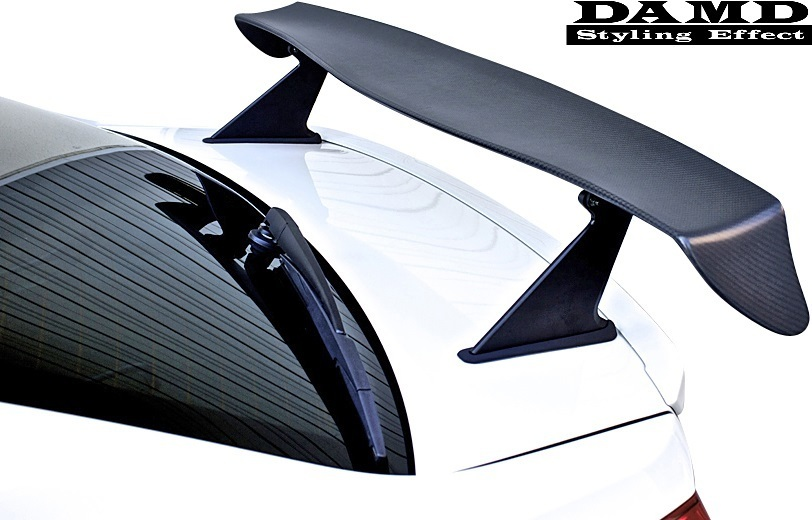【M's】WRX S4/STI (2014.8-) DAMD レーシングリアウイング// FRP ダムド エアロ VAG VAB 大型ウイング リヤウイング リアウイング_画像1