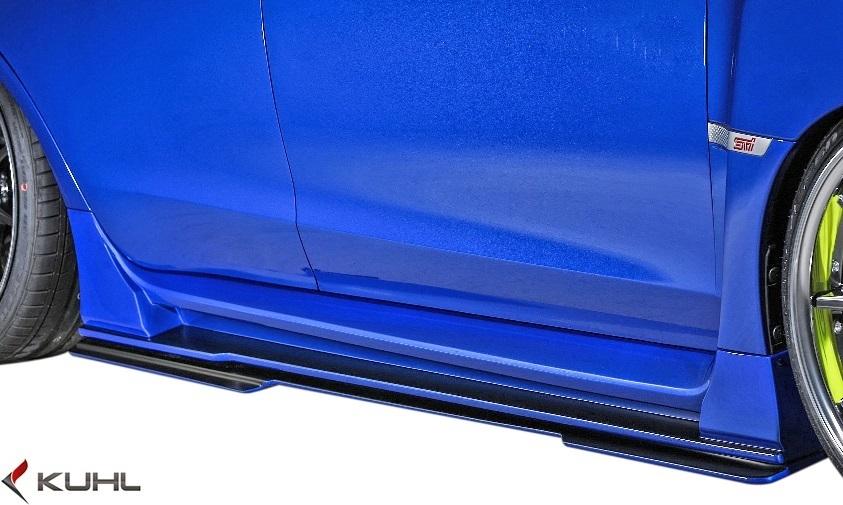 【M's】スバル 後期 WRX STI/S4 (H29.6-) Kuhl Racing VAB-GT エアロキット 8点//FRP SG クールレーシング フルエアロ エアロセット_画像6