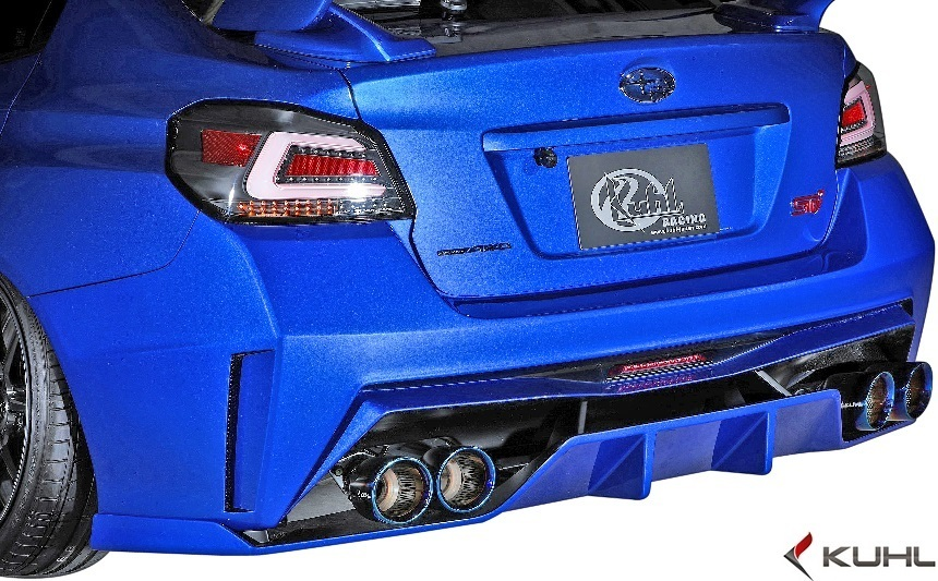 【M's】SUBARU 後期 WRX STI/S4 (H29.6-) Kuhl Racing VAB-GT リアバンパー//FRP SG クールレーシング エアロ リヤバンパー カスタム_画像1