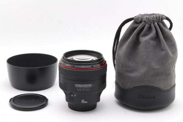 【動作確認済み 美品】キャノン Canon EF 85mm F/1.2 L USM AF ポートレート レンズ