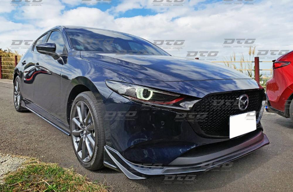 Mazda3 マツダ3 フロントリップスポイラー ファストバック BP 4代目 5ドア 塗装色付 2019 2020 _画像2