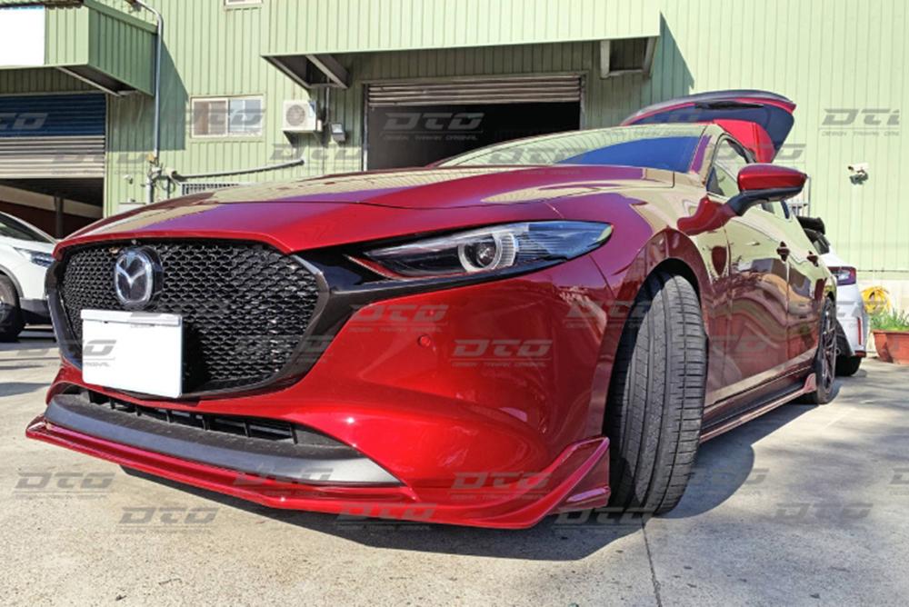 Mazda3 マツダ3 フロントリップスポイラー ファストバック BP 4代目 5ドア 塗装色付 2019 2020 _画像3