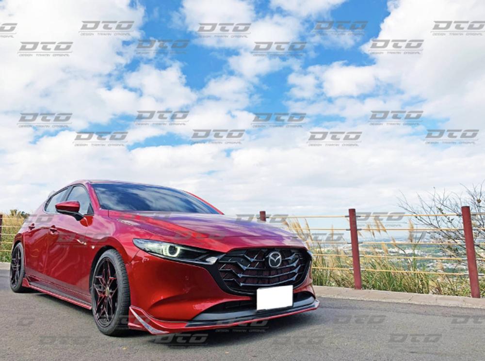 Mazda3 マツダ3 フロントリップスポイラー ファストバック BP 4代目 5ドア 塗装色付 2019 2020 _画像4