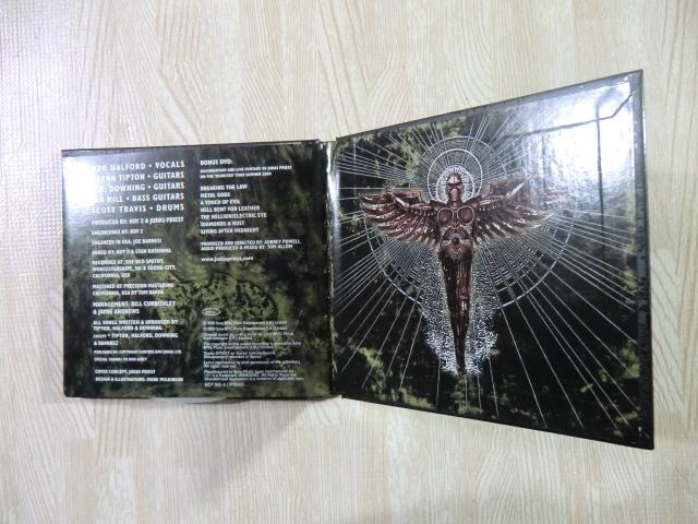 ♪ 送料無料! CD+DVD ジューダス・プリースト  エンジェル・オブ・レトリビューション ~  初回限定盤 デジパック仕様CD+DVD ~_画像8