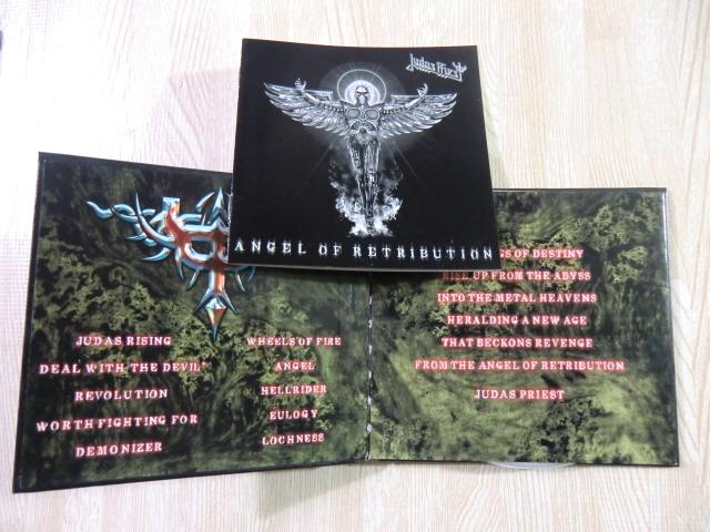 ♪ 送料無料! CD+DVD ジューダス・プリースト  エンジェル・オブ・レトリビューション ~  初回限定盤 デジパック仕様CD+DVD ~_画像9