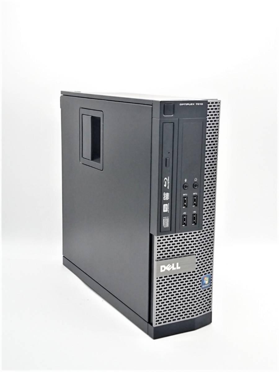 ★新品512GBSSD&新品1TBHDD★ DELL OPTIPLEX 7010 SFF Core i7-3770/16GB/ブルーレイ/無