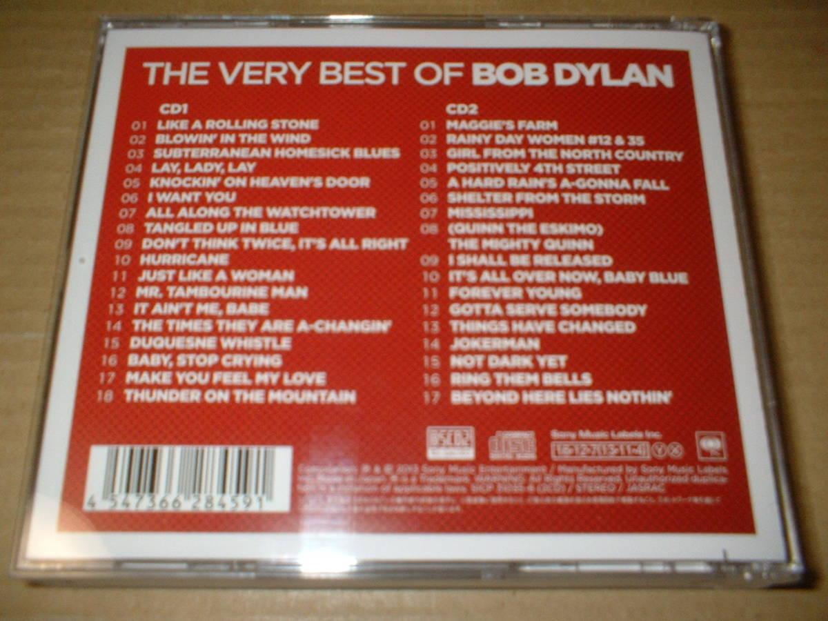 【国内再発2枚組Blu-spec CD2】ボブ・ディラン(Bob Dylan)/ザ・ヴェリー・ベスト・オブ・ボブ・ディラン (送料込!全35曲!)_画像2