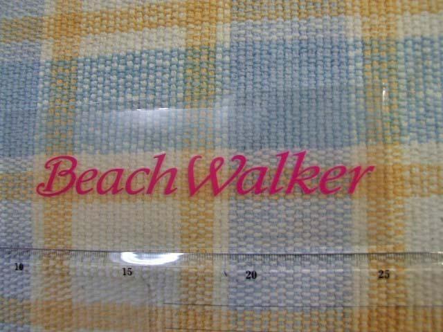 DUO/デュオ/Beach Walker/ビーチウォーカー/ピンク文字抜き/ステッカー/シール ※ ヤフーショッピングストア/レア物商会・健美堂でも大量_画像1