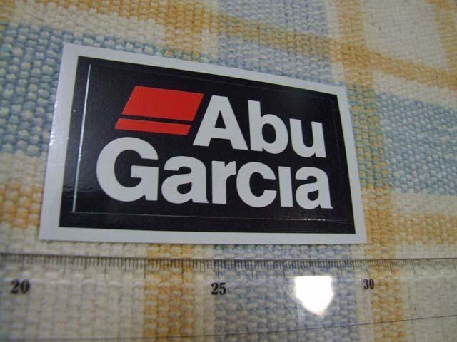 Abugarcia/アブガルシア/貴重になった/ブラック/ステッカー/シール/A ※ ヤフーショッピングストア/レア物商会・健美堂でも大量出品中!_画像1