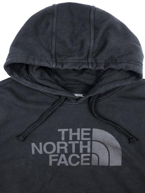 THE NORTH FACE■ロゴプリントプルオーバーパーカー ブラック/XL 2017年製 ノースフェイス_画像5