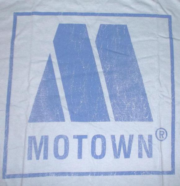 ★モータウン Tシャツ MOTOWN 水色 S 正規品 soul r&b funk mods music 60s_画像2