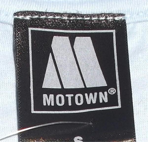 ★モータウン Tシャツ MOTOWN 水色 S 正規品 soul r&b funk mods music 60s_※タグの仕様は入荷時期により異なります