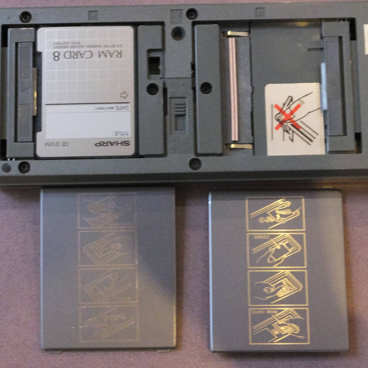 SHARP POCKET COMPUTER PC-1360 ポケットコンピュータ_画像2