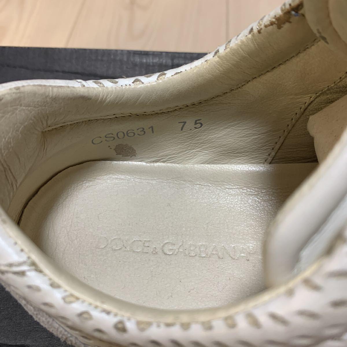 ドルチェアンドガッバーナ シューズ 靴