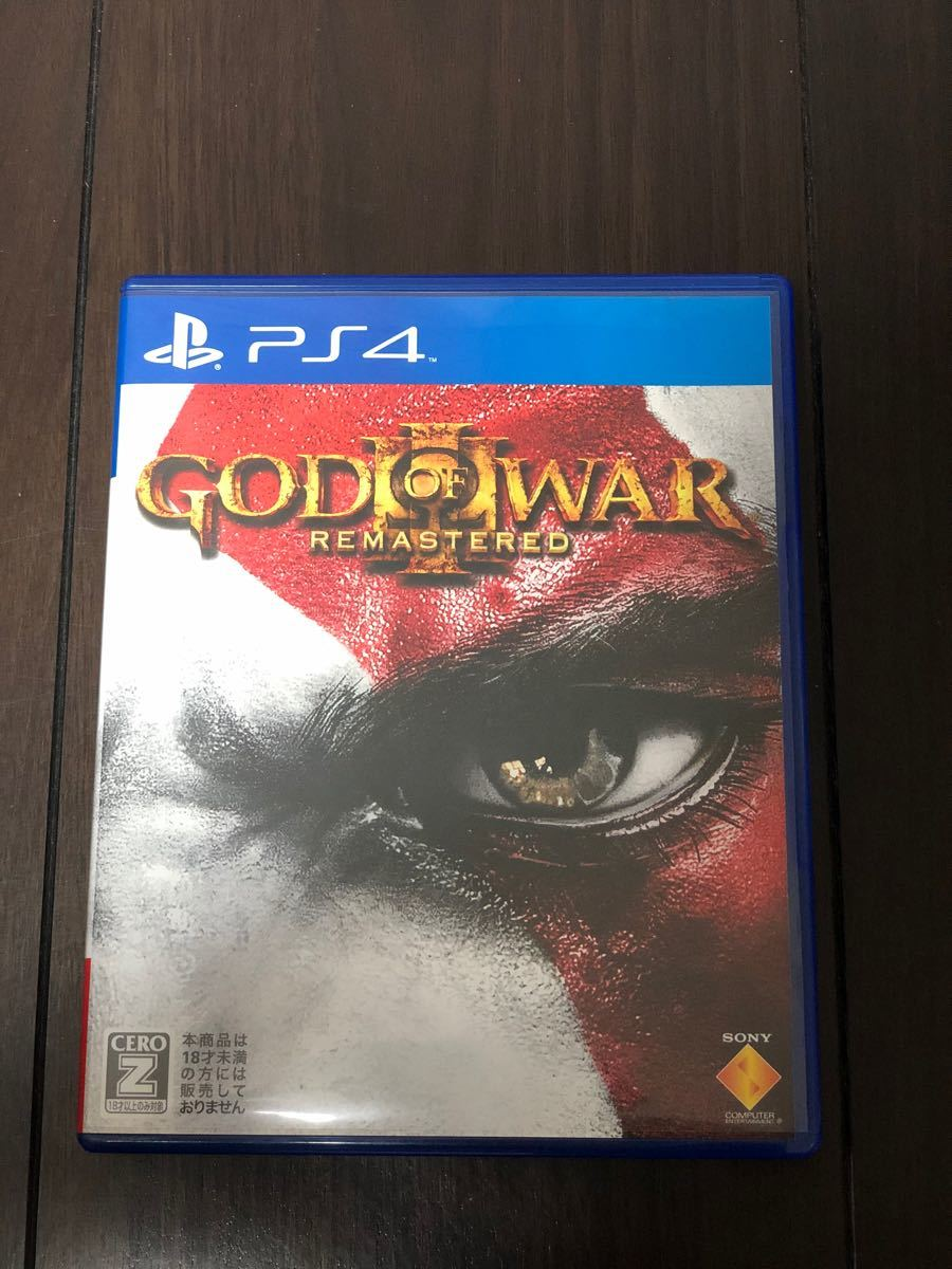 PS4 GOD OF WAR III REMASTERED ゴッドオブウォー3