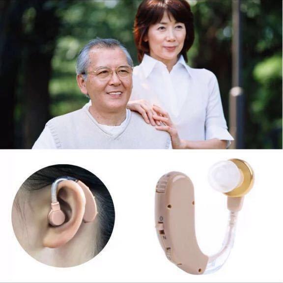 補聴器 新品未使用 耳掛け式 中度~高度用 高音質 片耳 _画像2