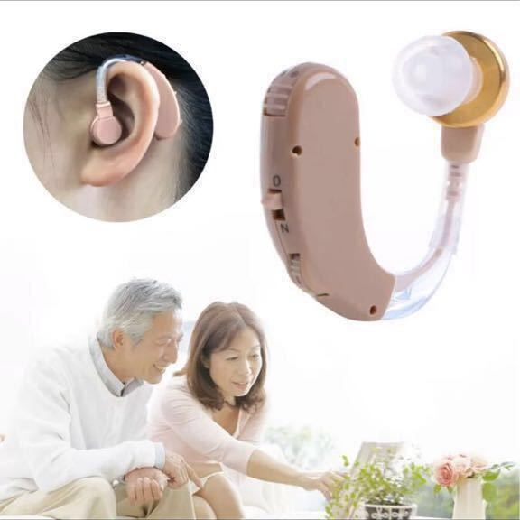 補聴器 新品未使用 耳掛け式 中度~高度用 高音質 片耳 _画像1