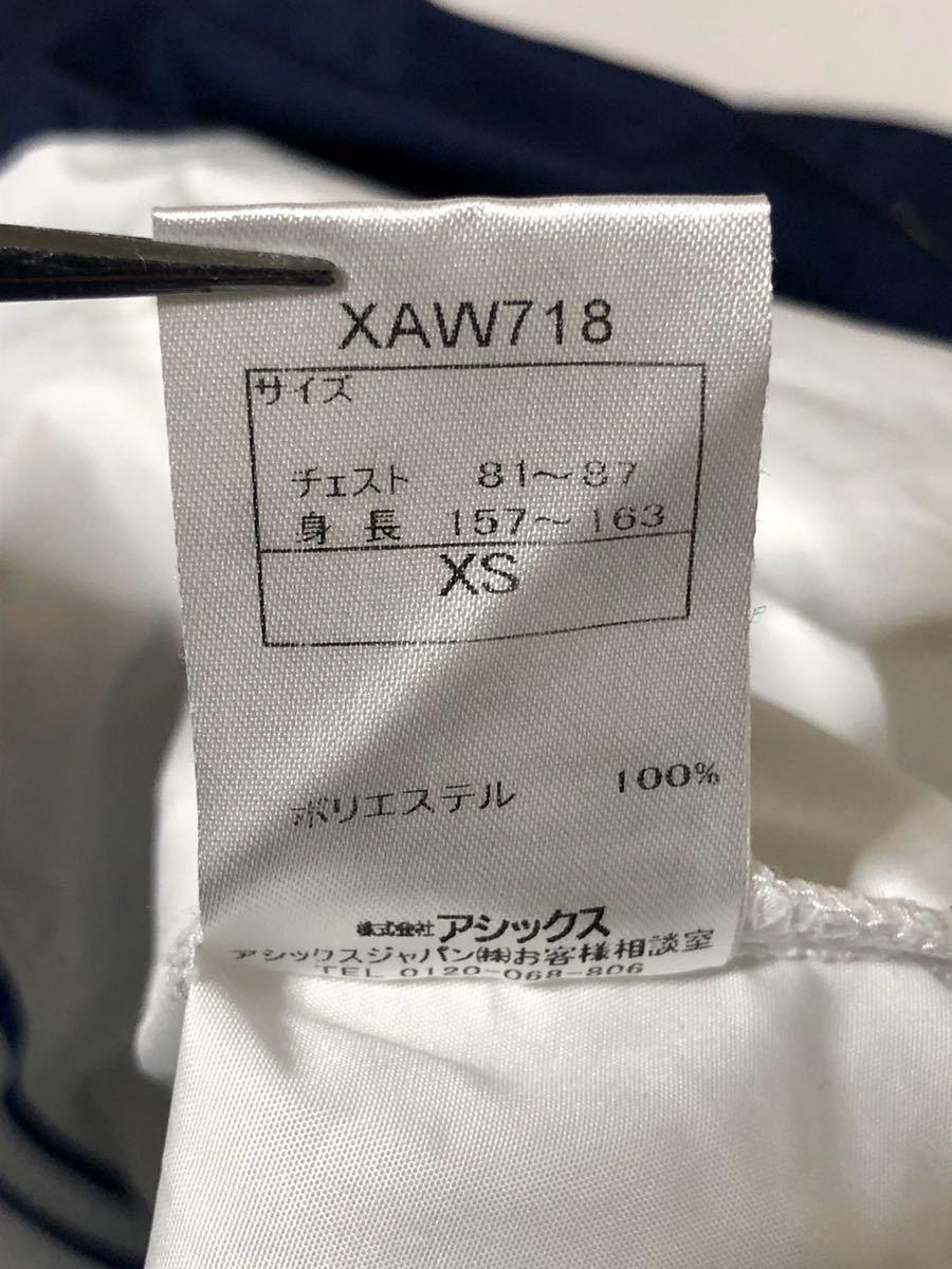 68 ●asics A77●アシックス ウインドブレーカー ラグラン ポリエステル100% チェスト81~87 身長157~163 サイズXS_画像7