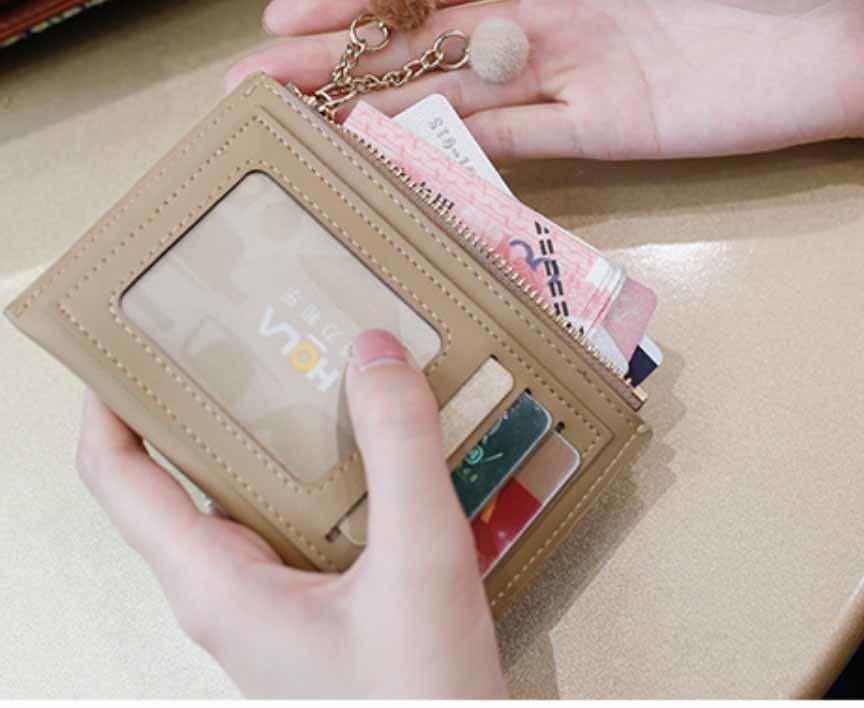 カードケース・小銭入れ・定期入れ/キルティング/ベージュ
