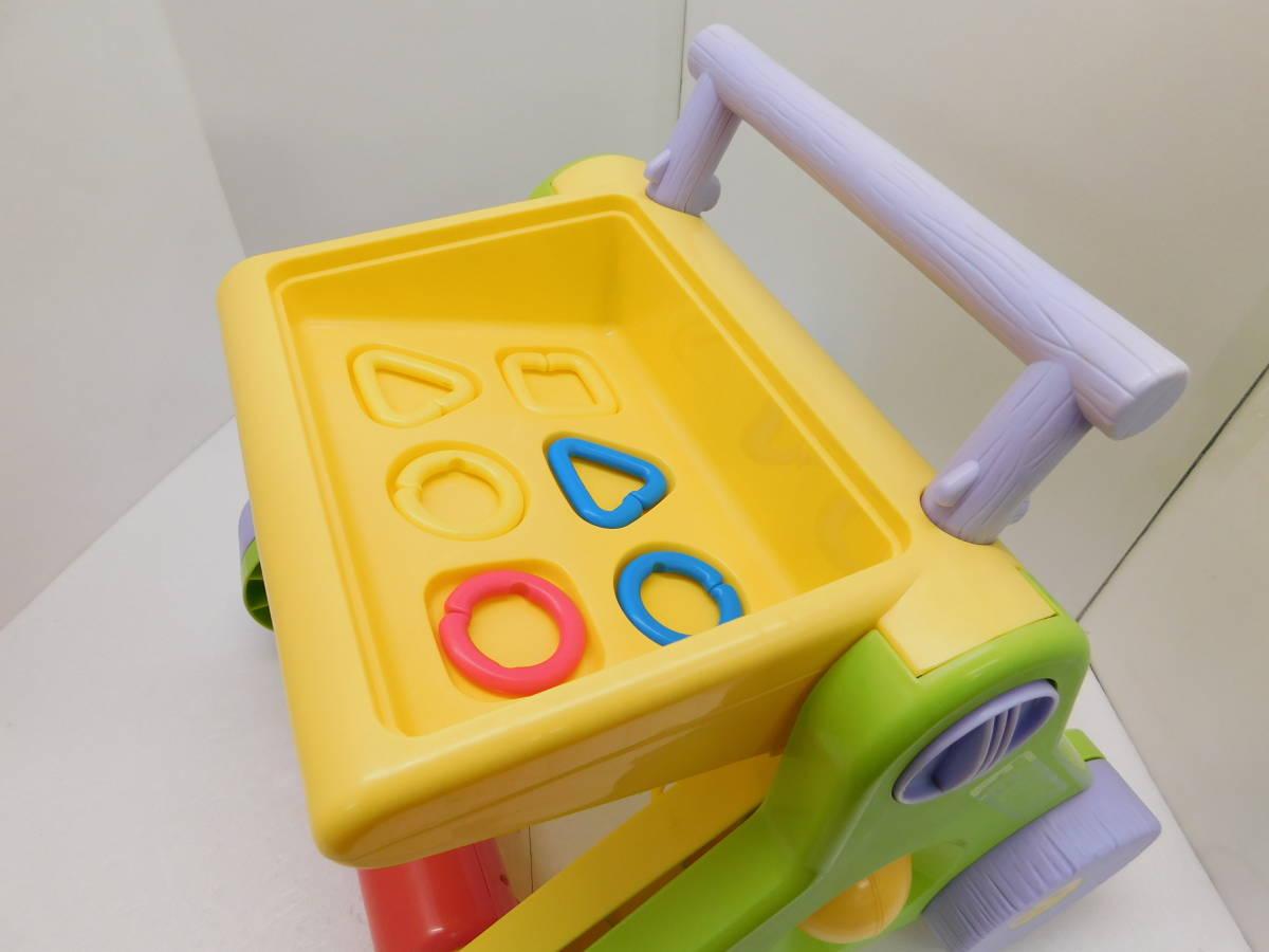 F203-11 くまのぷーさんよくばりジムウォーカー 新生児 2カ月頃から  組み立て ベビージム ビジーモード ウォーカー