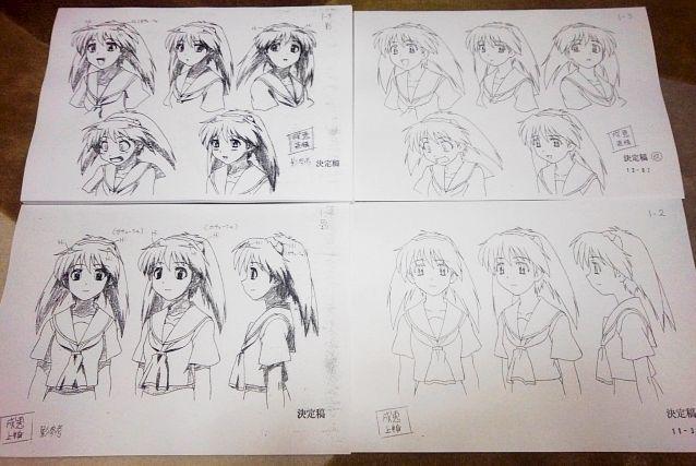 設定資料 成恵の世界 アニメ セル画 資料系_画像2