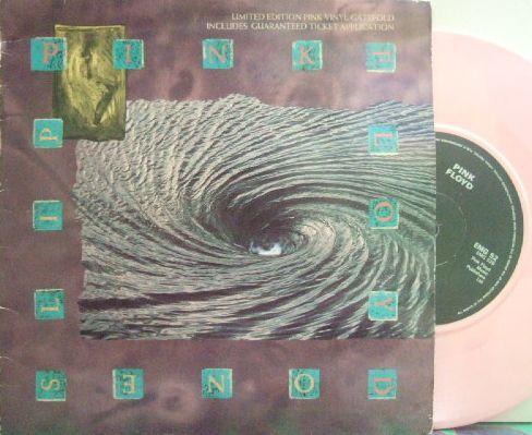 3枚で送料無料【英EMI 7'】Pink Floyd/One Slip c/w Terminal Frost (from A Momentary Lapse of Reason) 限定盤 pink vinyl_画像1