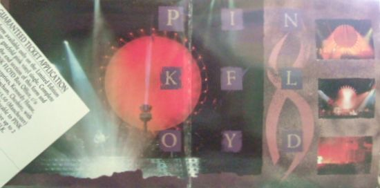 3枚で送料無料【英EMI 7'】Pink Floyd/One Slip c/w Terminal Frost (from A Momentary Lapse of Reason) 限定盤 pink vinyl_画像3