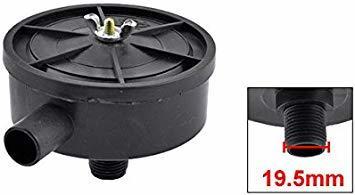 uxcell 空気圧縮機フィルターサイレンサー スレッド排気フィルターマフラーエアーコンプレッサーフィルターサイレンサー_画像2