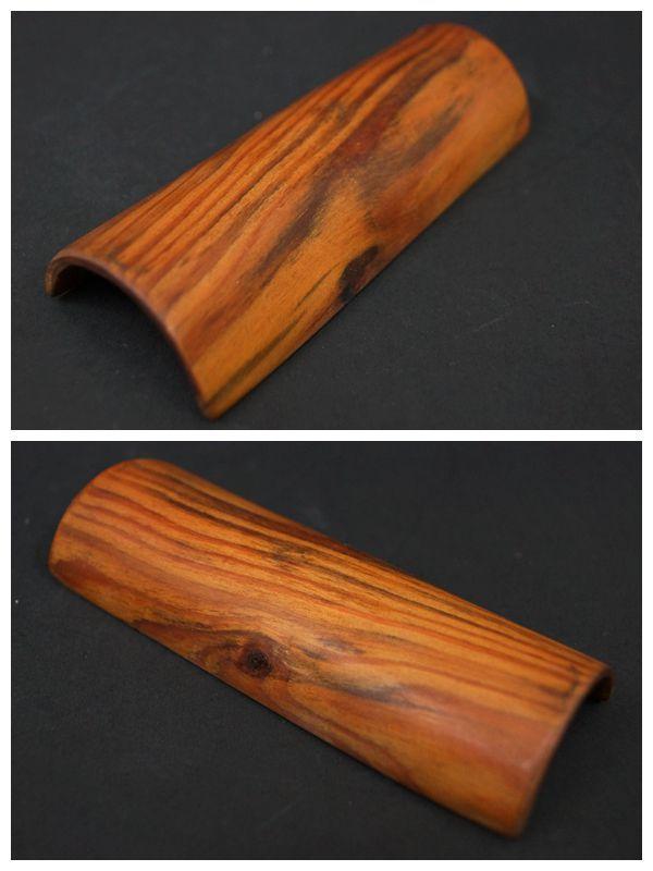 【閑】天然肥松製 松製 茶合 茶量 仙媒 二点セット / 煎茶道具 R30307■ _画像2