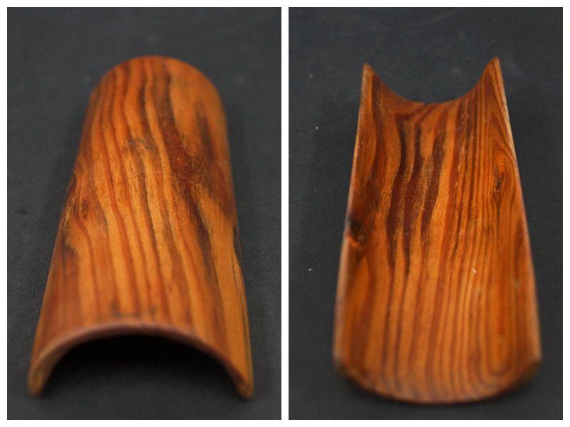 【閑】天然肥松製 松製 茶合 茶量 仙媒 二点セット / 煎茶道具 R30307■ _画像3