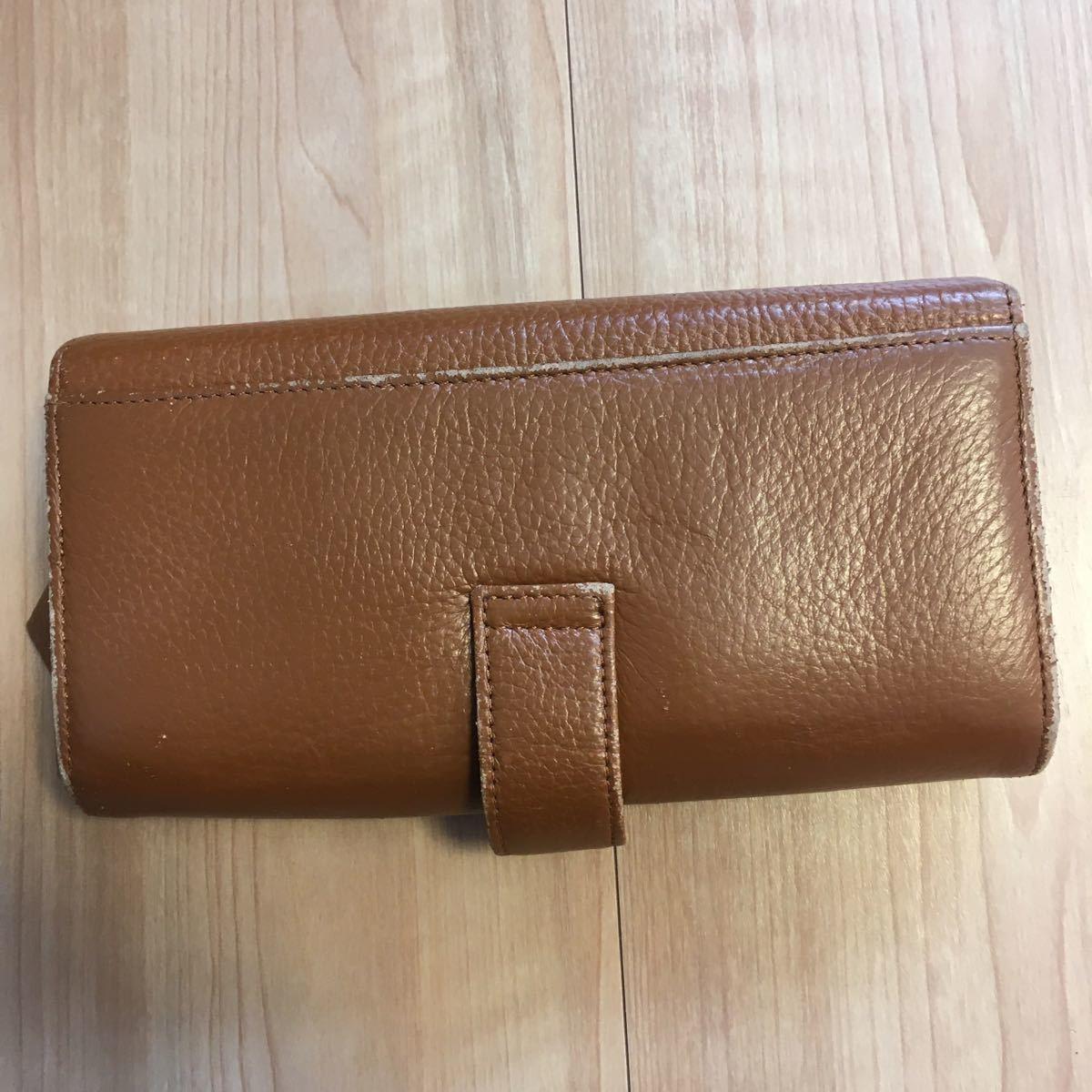 ポケットたくさん長財布
