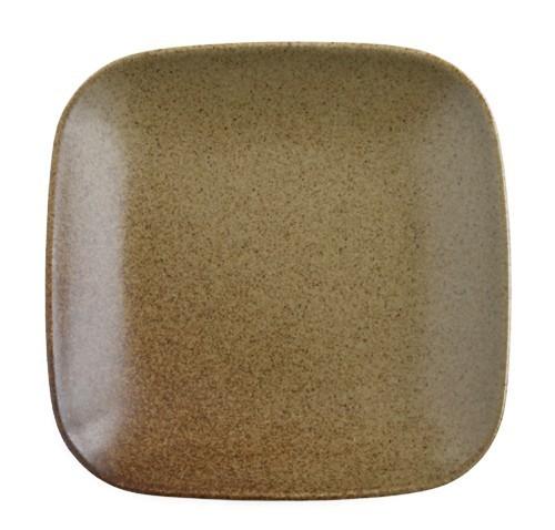 4枚セット【リンドスタイメスト】ACORN エイコーン どんぐり色 四角中皿 スクウェアーサラダプレート 19.5cm  L-ACO-SQSAPL-20-4S_画像2