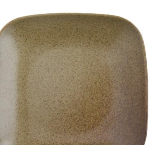 4枚セット【リンドスタイメスト】ACORN エイコーン どんぐり色 四角中皿 スクウェアーサラダプレート 19.5cm  L-ACO-SQSAPL-20-4S_画像3