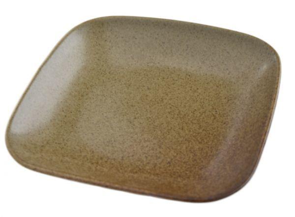 4枚セット【リンドスタイメスト】ACORN エイコーン どんぐり色 四角中皿 スクウェアーサラダプレート 19.5cm  L-ACO-SQSAPL-20-4S_画像4