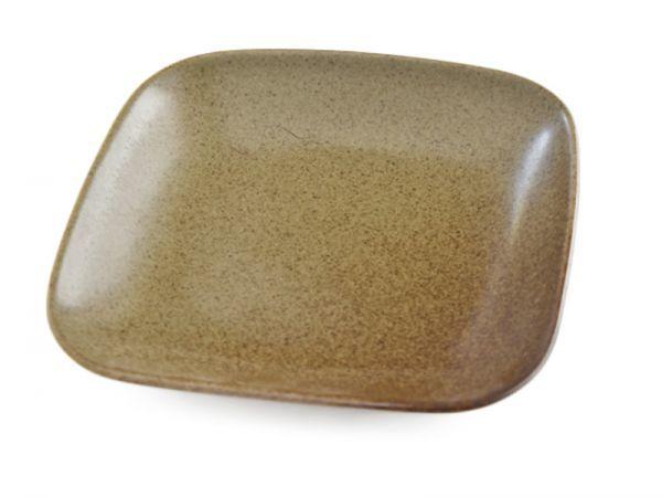 4枚セット【リンドスタイメスト】ACORN エイコーン どんぐり色 四角中皿 スクウェアーサラダプレート 19.5cm  L-ACO-SQSAPL-20-4S_画像5