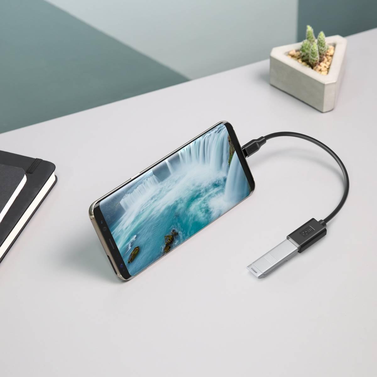★未使用★ 2個 セット USB C 変換コネクタ Type C to USB 3.0 OTGケーブル MacBook Galaxy Note etc★ 268720-229_画像4