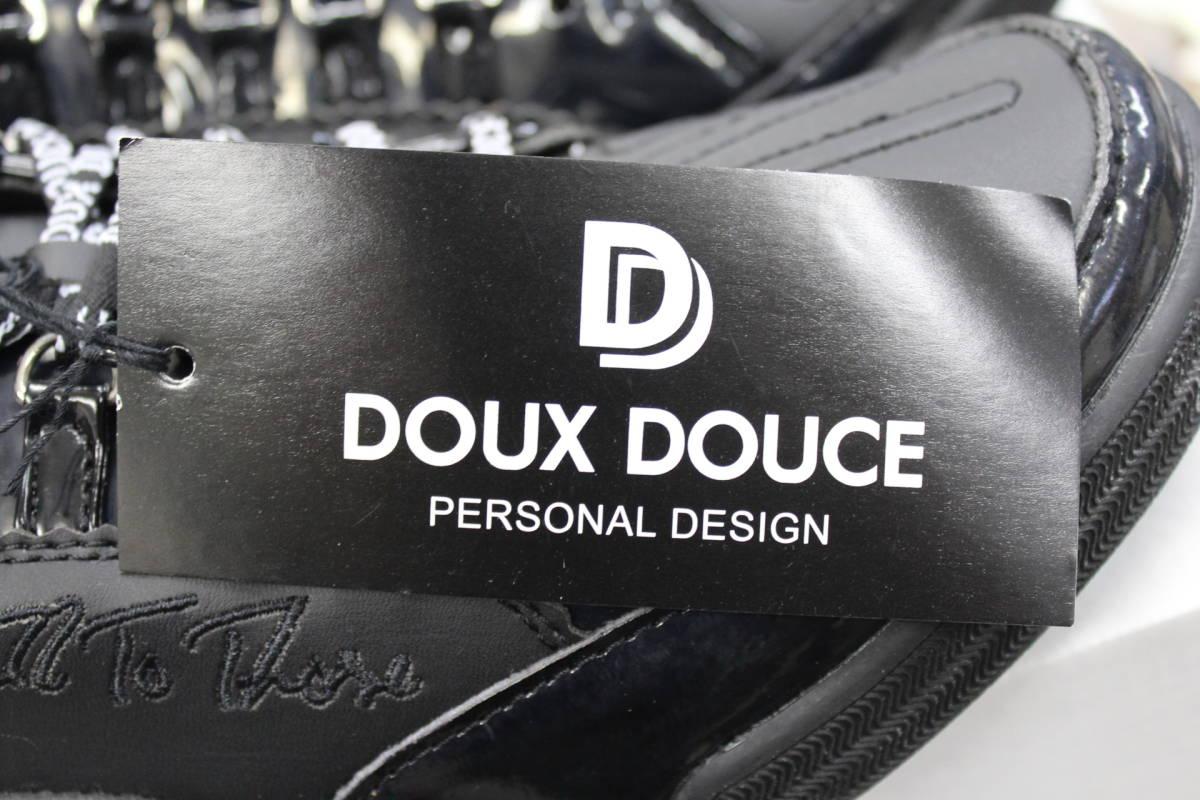 【DOUX DOUCE】貴重品【廃番■緊急値下げ■黒色シューズ】有名ブランド■26cm【定価14080円】_画像6