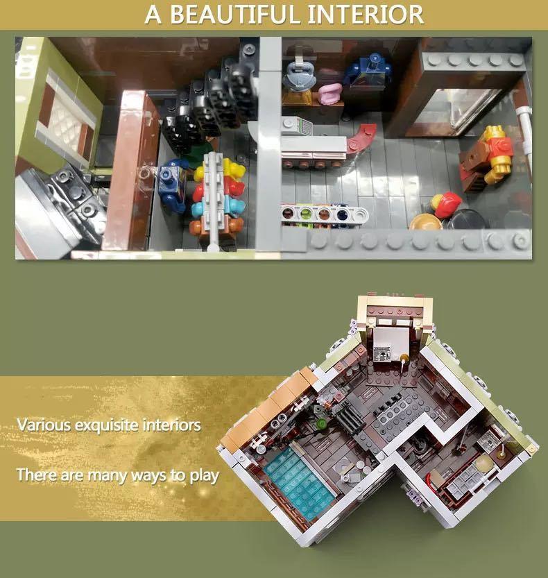 LEGO互換 角の商店_画像6