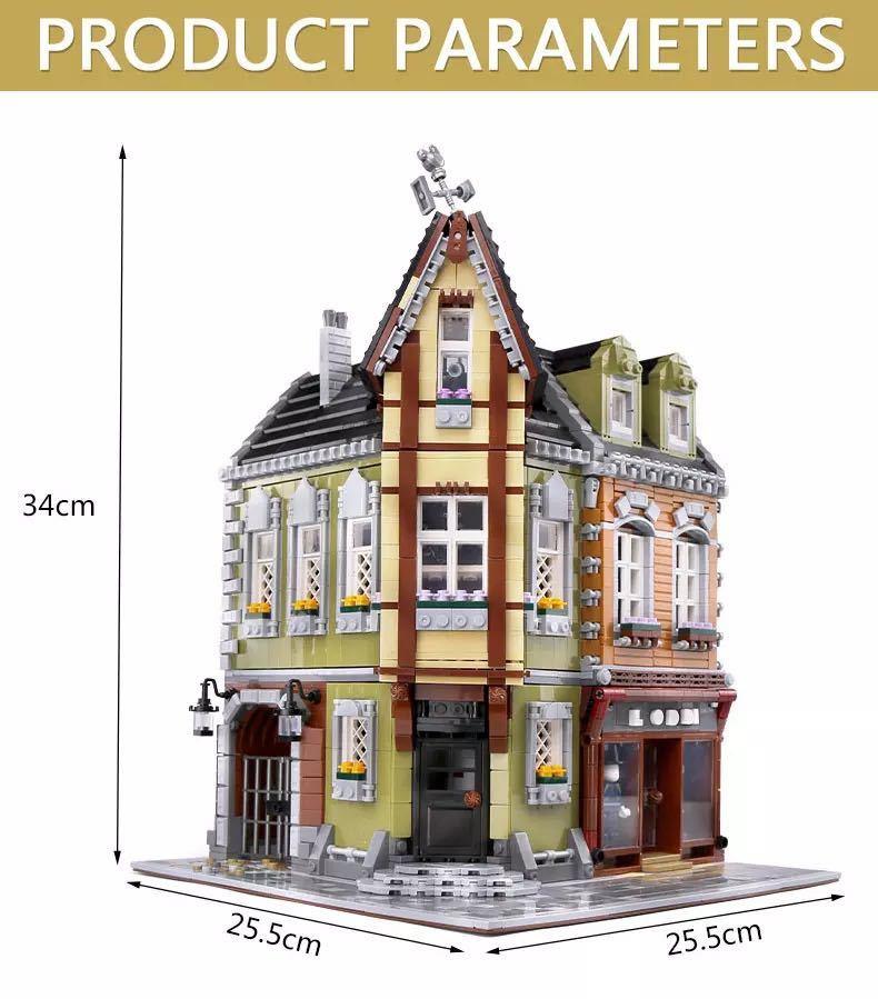 LEGO互換 角の商店_画像8