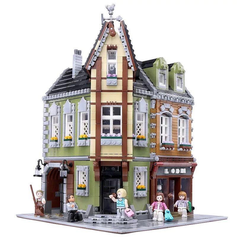LEGO互換 角の商店_画像1
