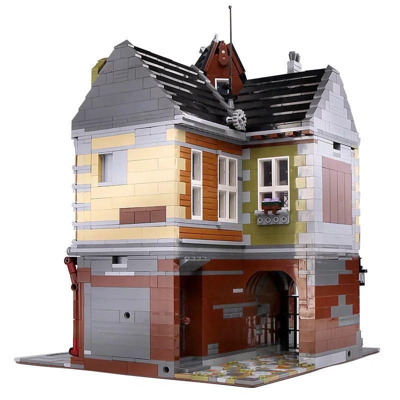 LEGO互換 角の商店_画像2