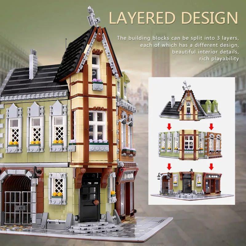 LEGO互換 角の商店_画像3