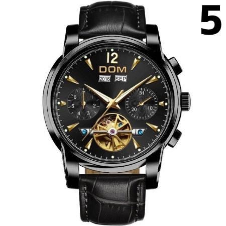 腕時計 メカニカル メンズ ウォッチ 自動巻き 男性 防水 レザーストラップ mt2260_画像6