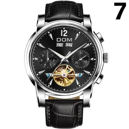 腕時計 メカニカル メンズ ウォッチ 自動巻き 男性 防水 レザーストラップ mt2260_画像8